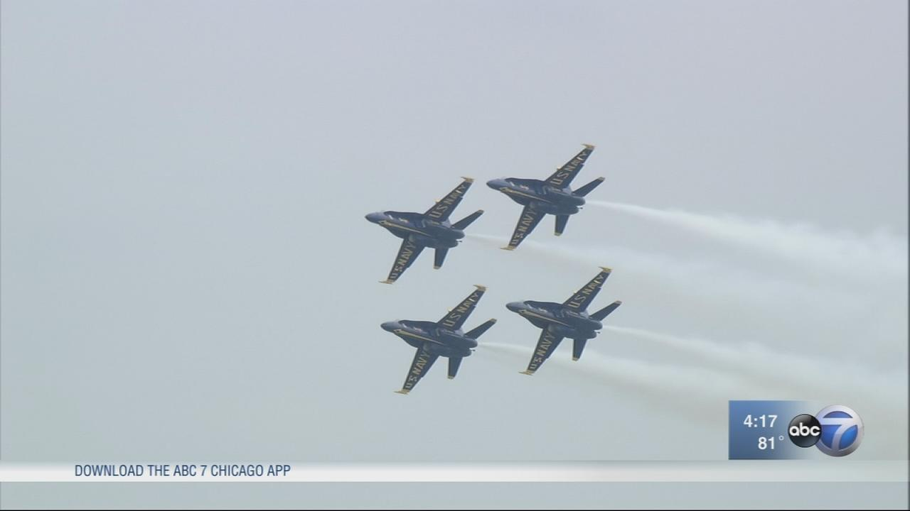 Chicago Air and Water Show rehearsals begin