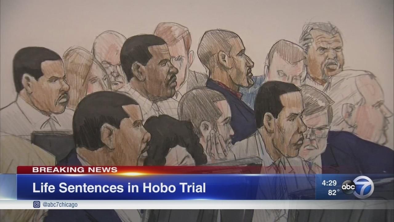 Hobos Gang defendants sentenced to life