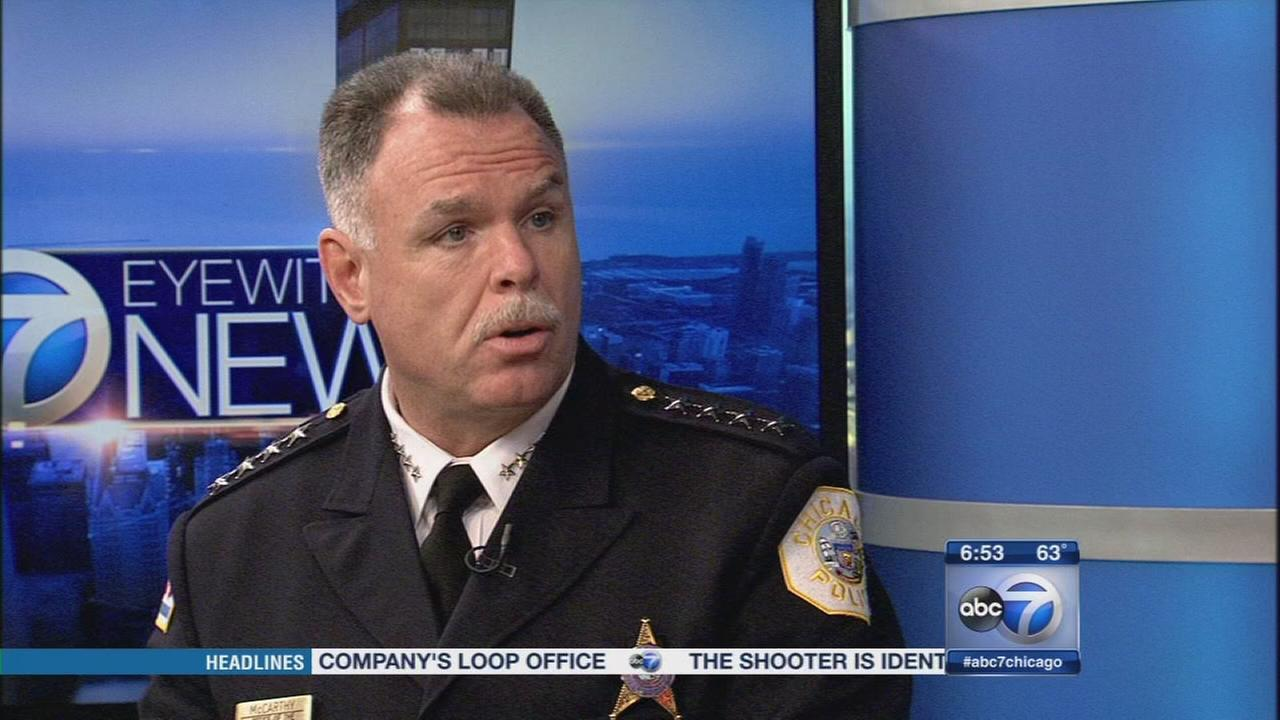McCarthy updates Chicago crime numbers