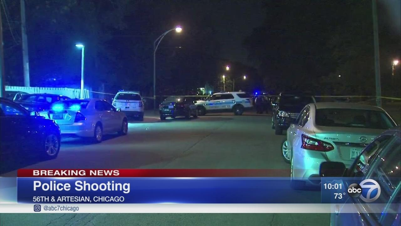 Man shot by Chicago police