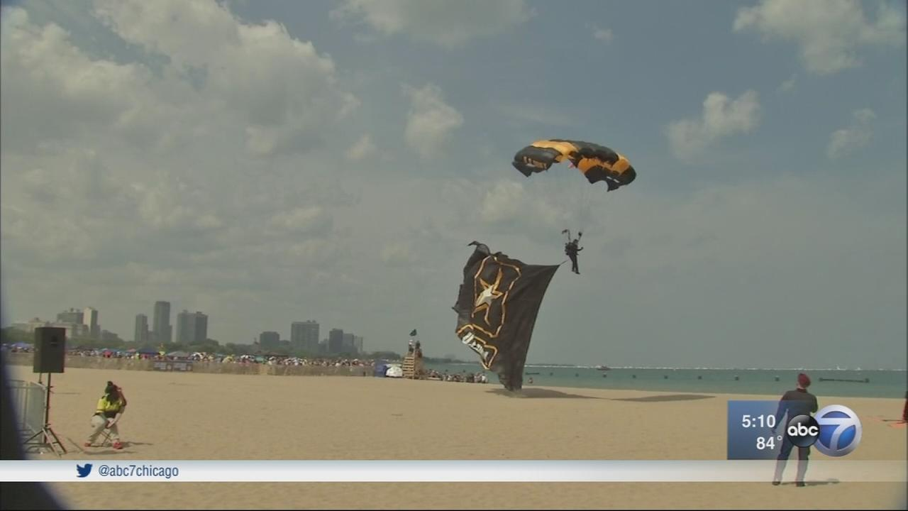59th annual Chicago Air and Water Show wraps up Sunday