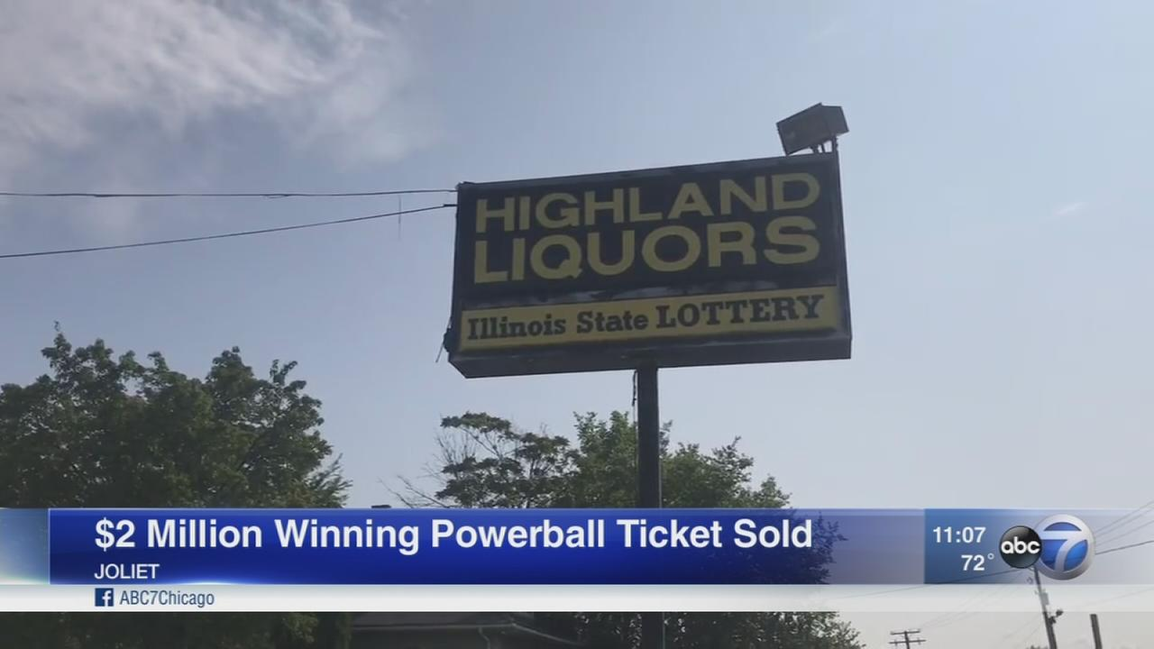 Powerball winning ticket sold in Joliet
