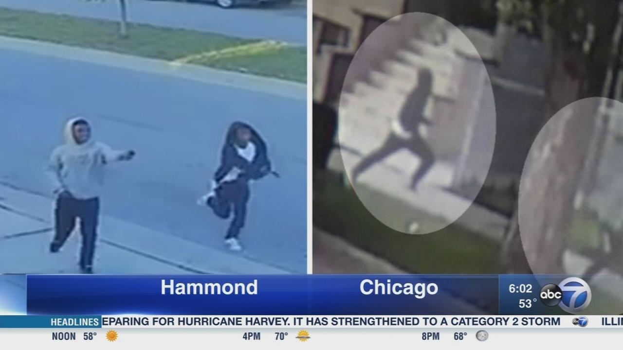 Chicago shooting, Hammon robberies under investigation