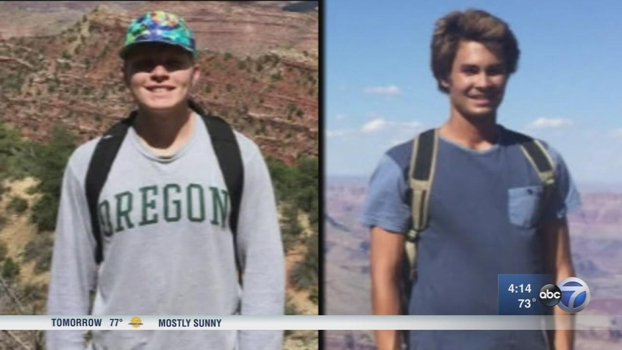 Teens lost in Grand Canyon for 5 days survived on two granola bars, puddles of water