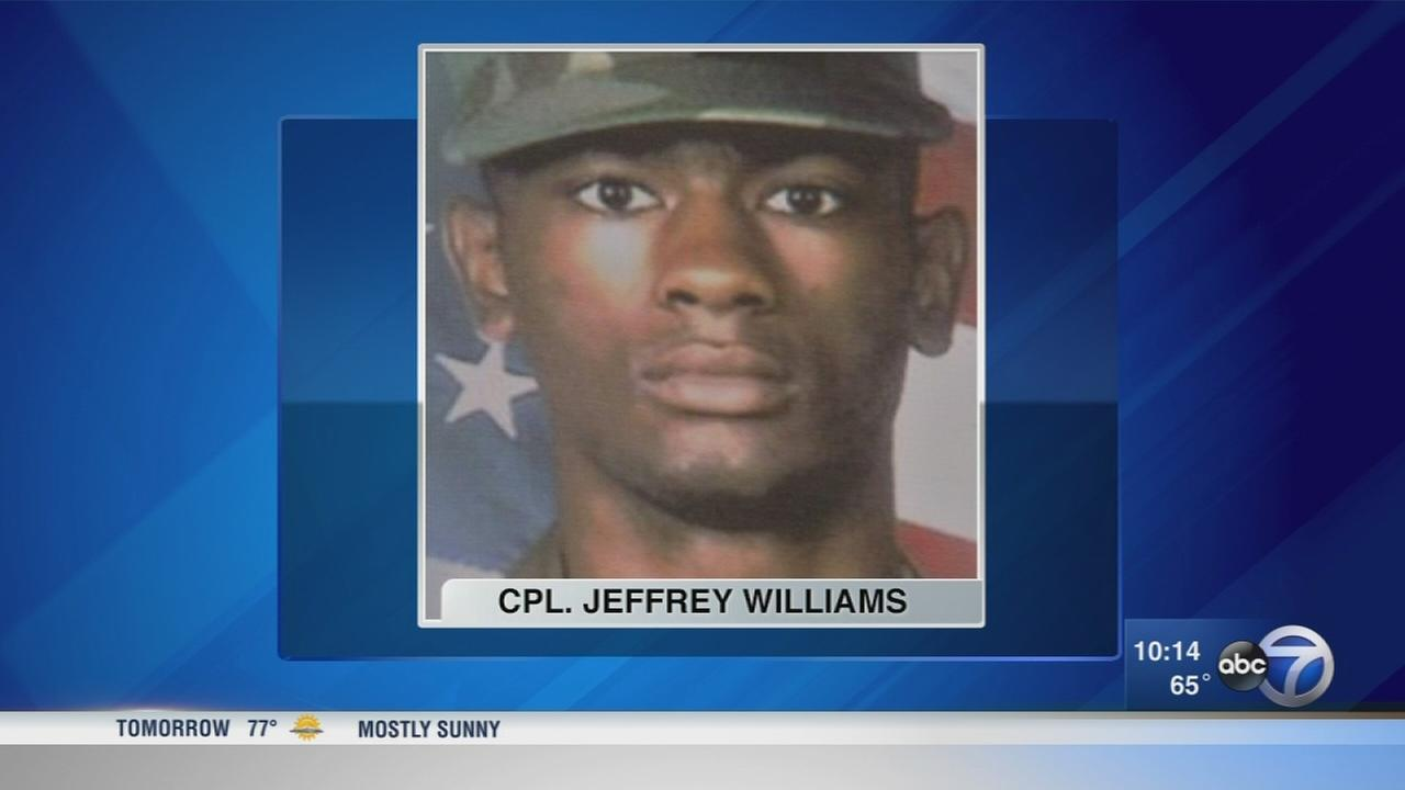 Former classmates work to rename Warrenville post office for slain soldier