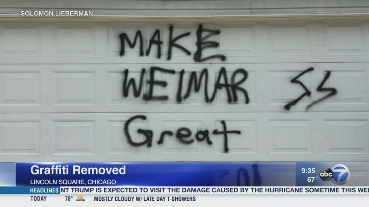 Pro-Nazi graffiti found on Lincoln Square garage