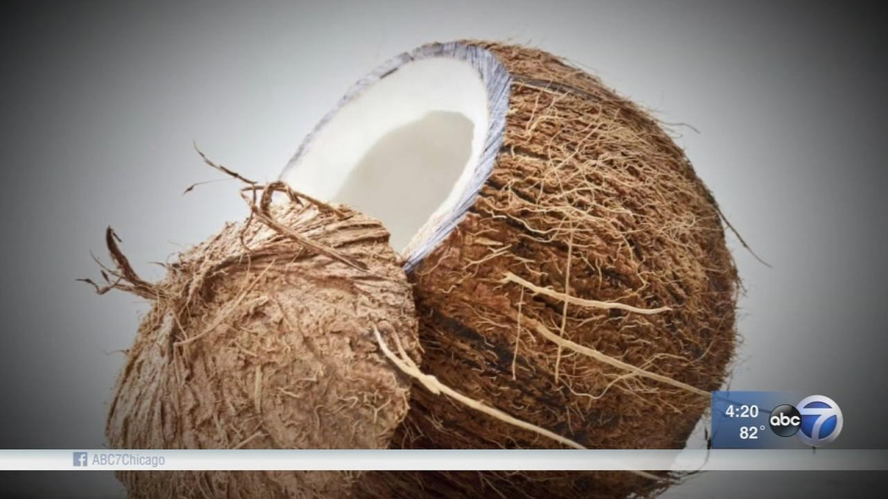 Coconut oil should be used in moderation, report says