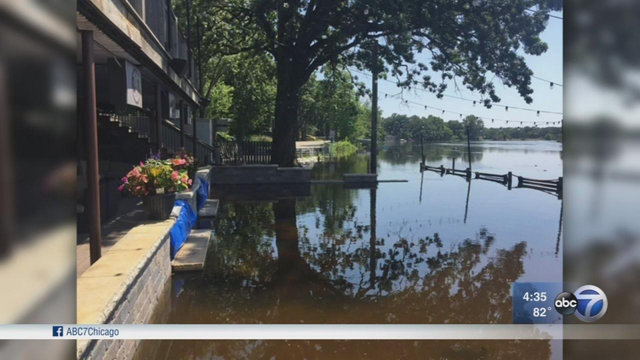 Suburban residents still grappling with impact of record flooding