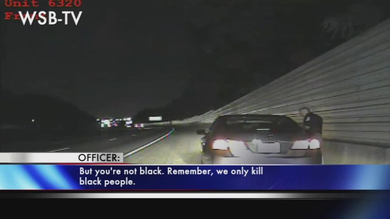 Officer arrested for we only shoot black people comment
