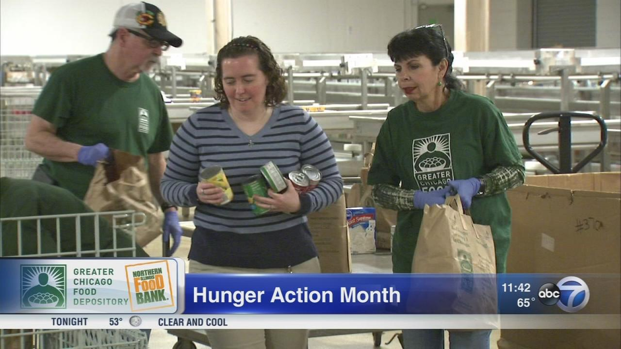 September is Hunger Action Month across the country