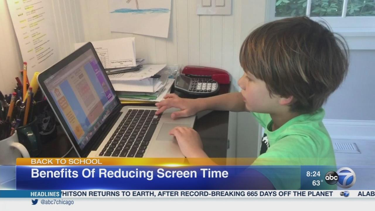 Limiting screen time for back to school