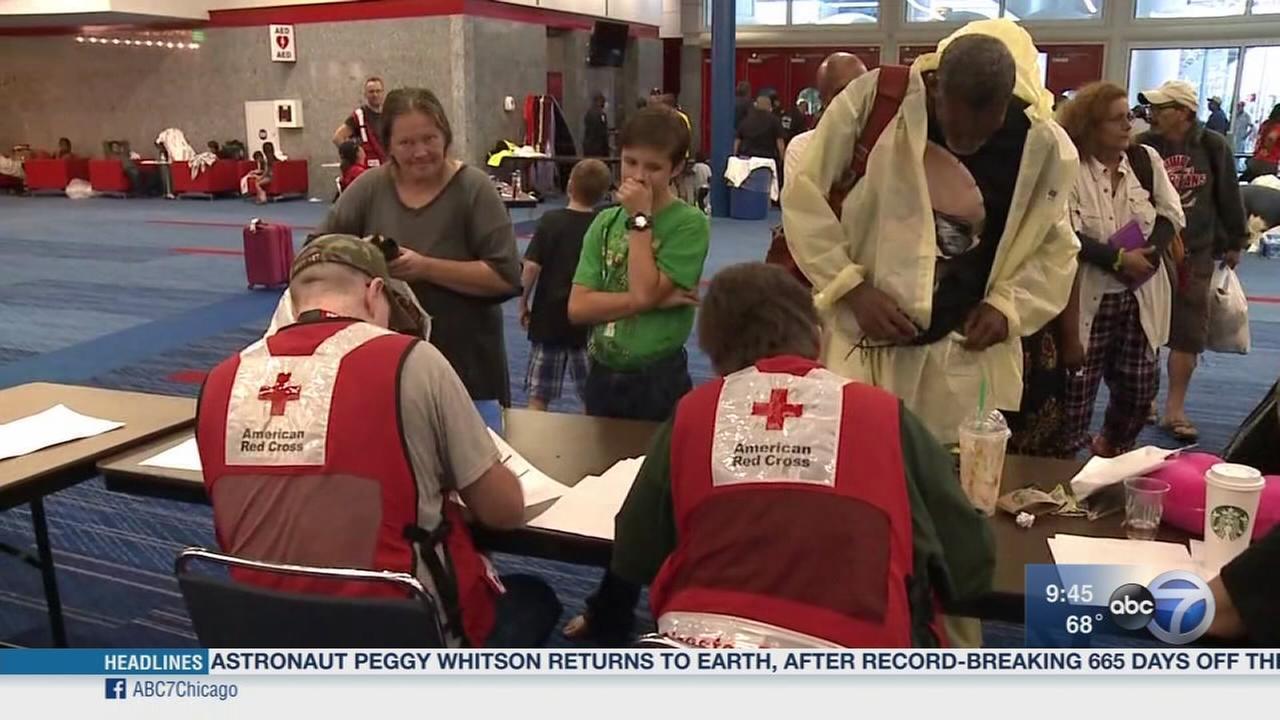 Newsviews Part 1: Red Cross responds to Harvey