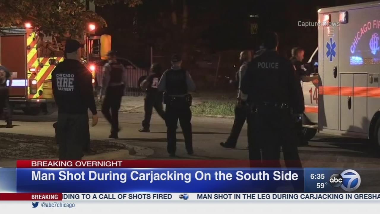 Man shot during Gresham carjacking