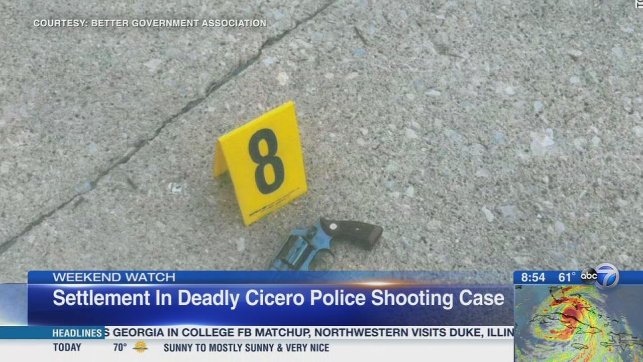 Weekend Watch: Settlement in deadly Cicero police shooting