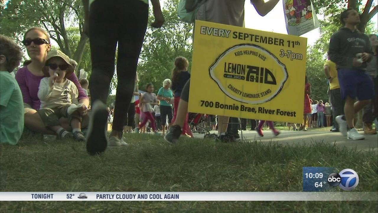 Annual LemonAid event raises money for charity on 9/11