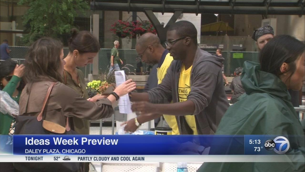 Tickets for Chicago Ideas Week went on sale Tuesday