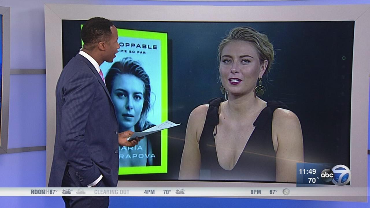 Maria Sharapova speaks to ABC7 about new book, career