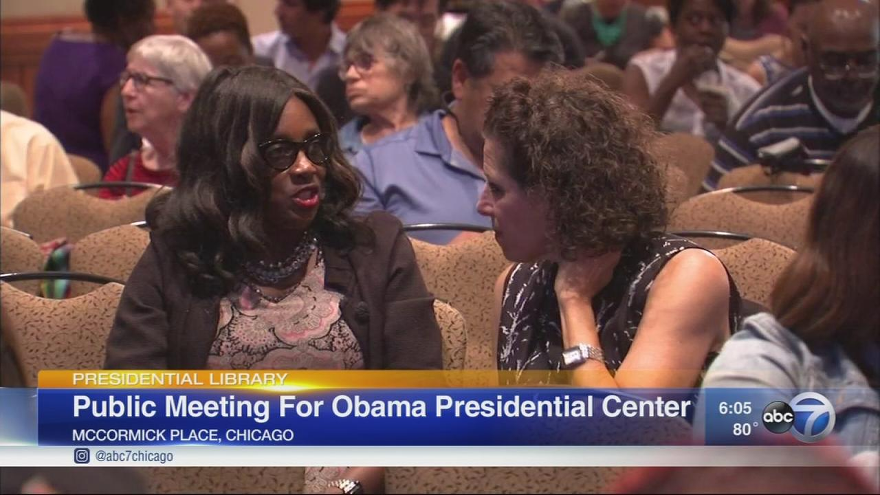 Obama Foundation to hold public meeting on presidential center