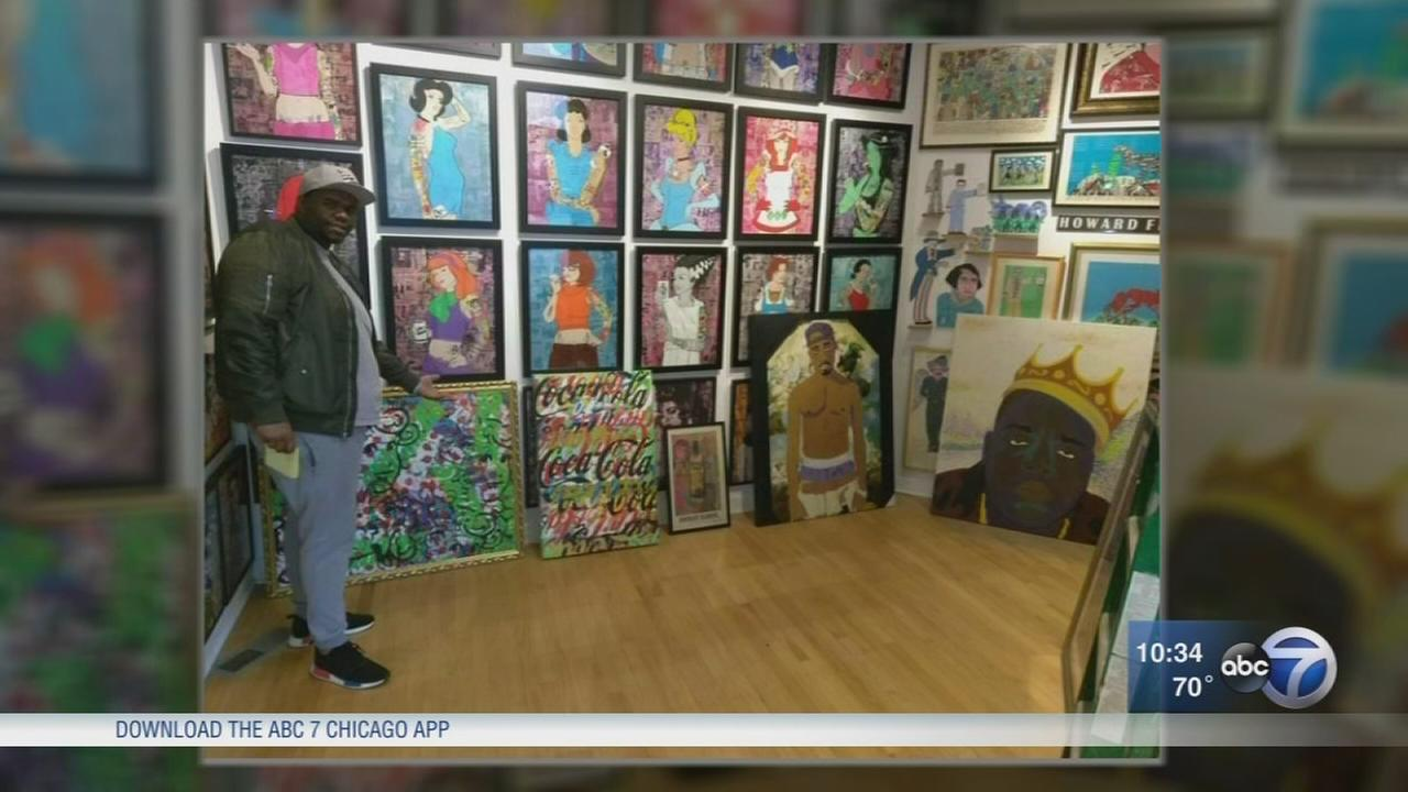 Gallery owner says Pay Pal wont help enough after alleged heist