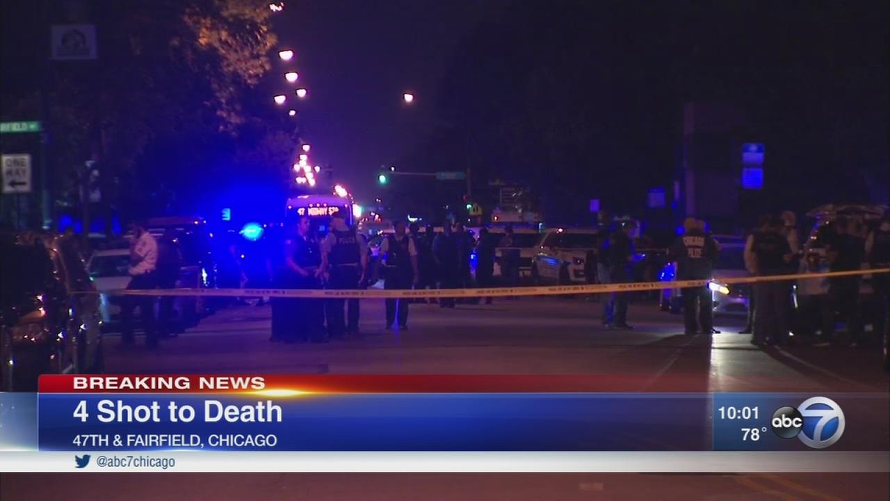 4 killed in Brighton Park shooting