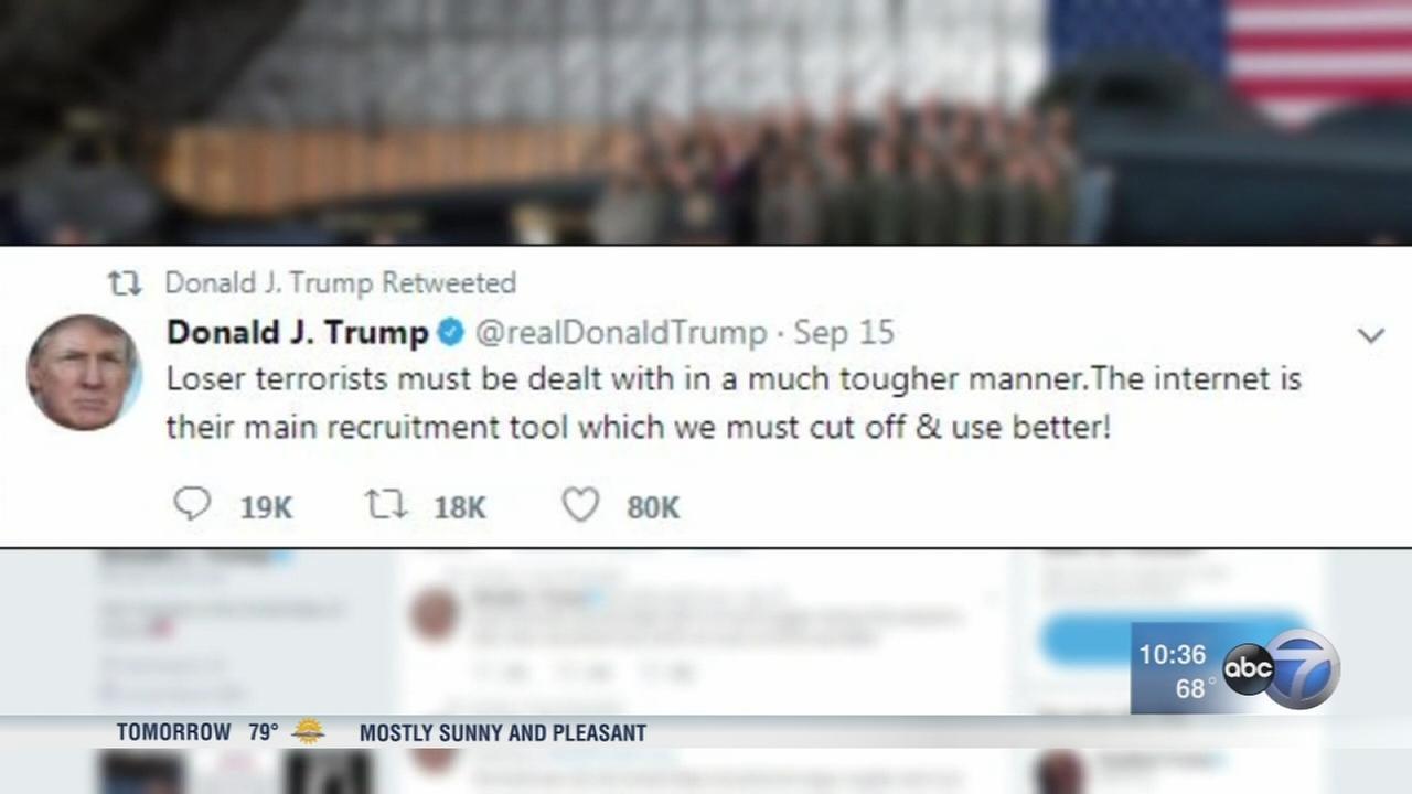 President Trump posts controversial tweets ahead of UN meeting