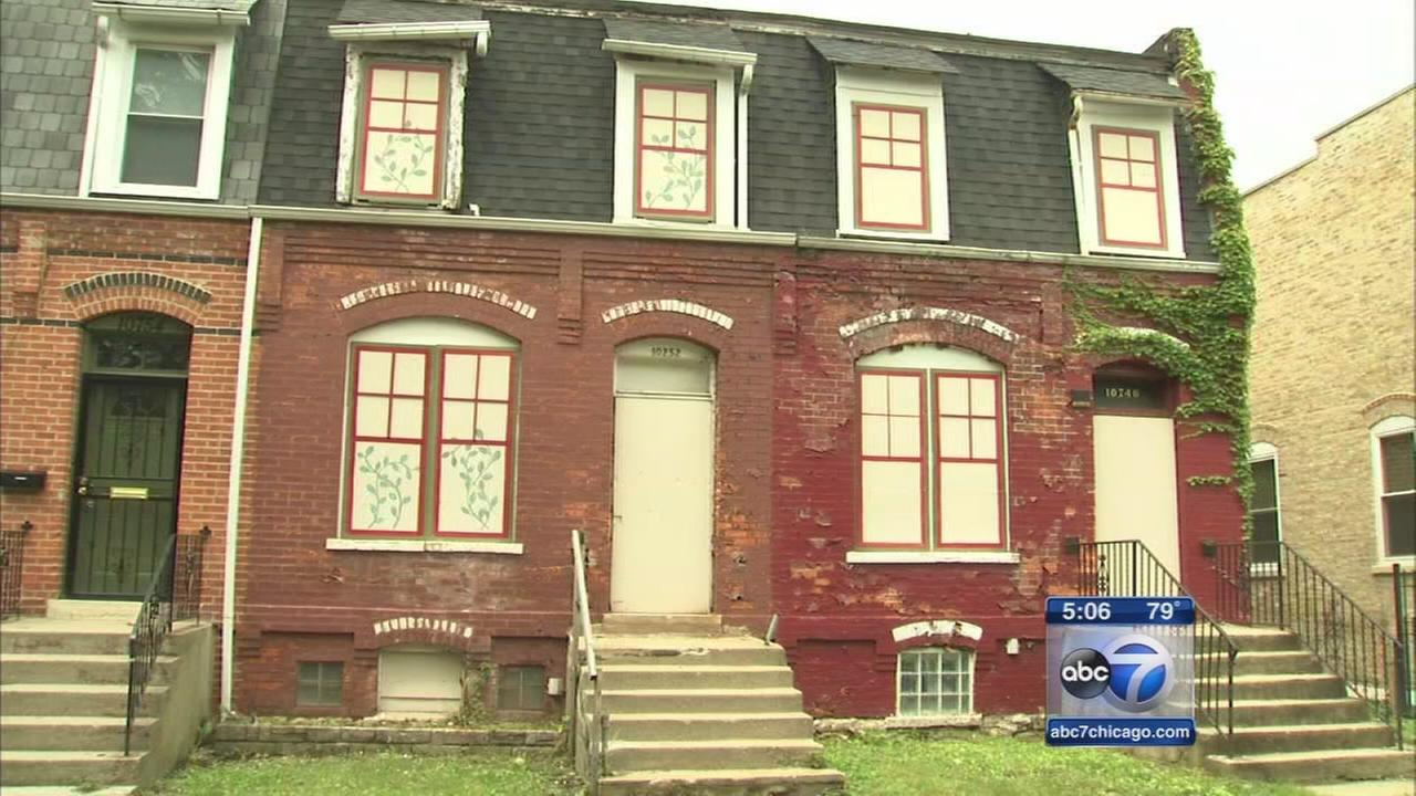 Pullman row houses renovated for affordable housing