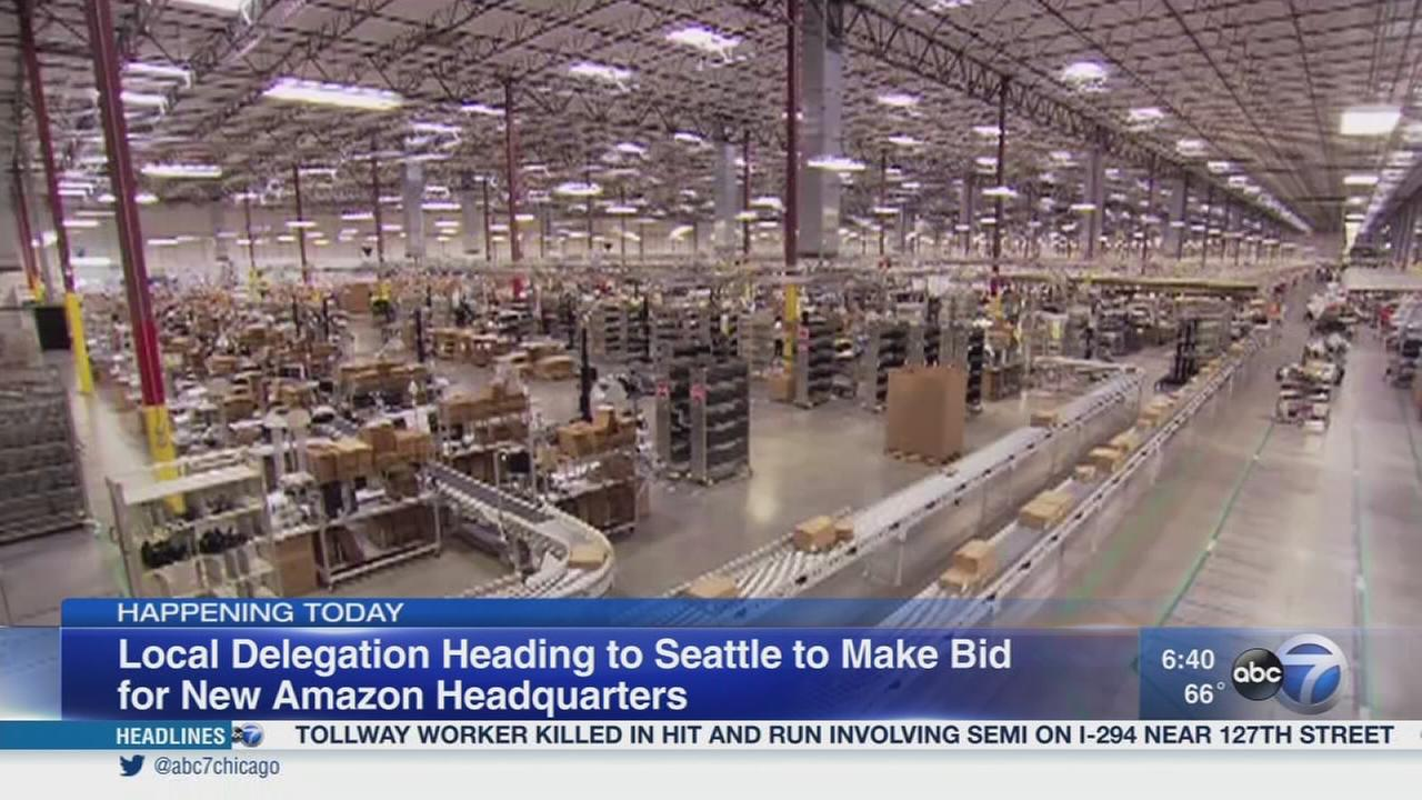Chicago delegation traveling to Seattle for Amazon bid