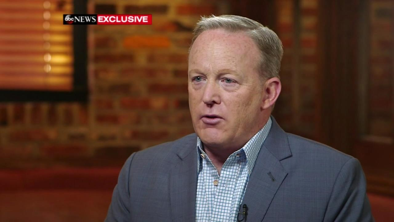 Sean Spicer speaks on brief WH tenure