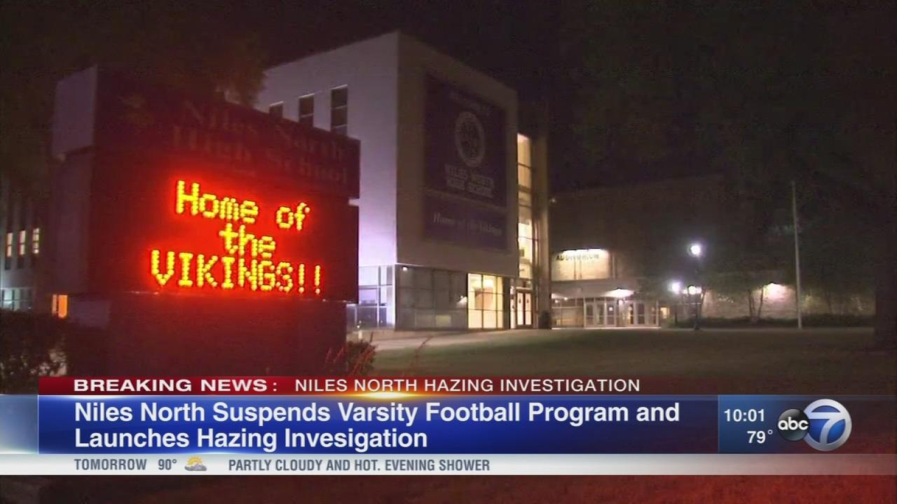 Niles North HS varsity football suspended during hazing investigation