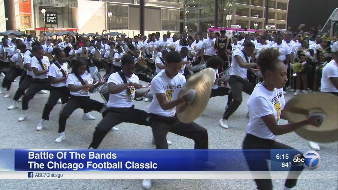 Chicago Football Classic Battle of the Bands