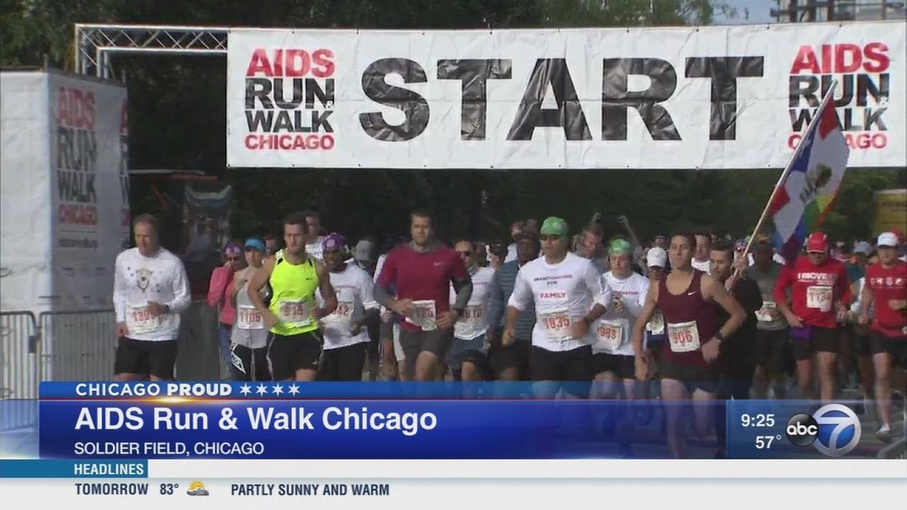 16th Annual AIDS Run and Walk Chicago