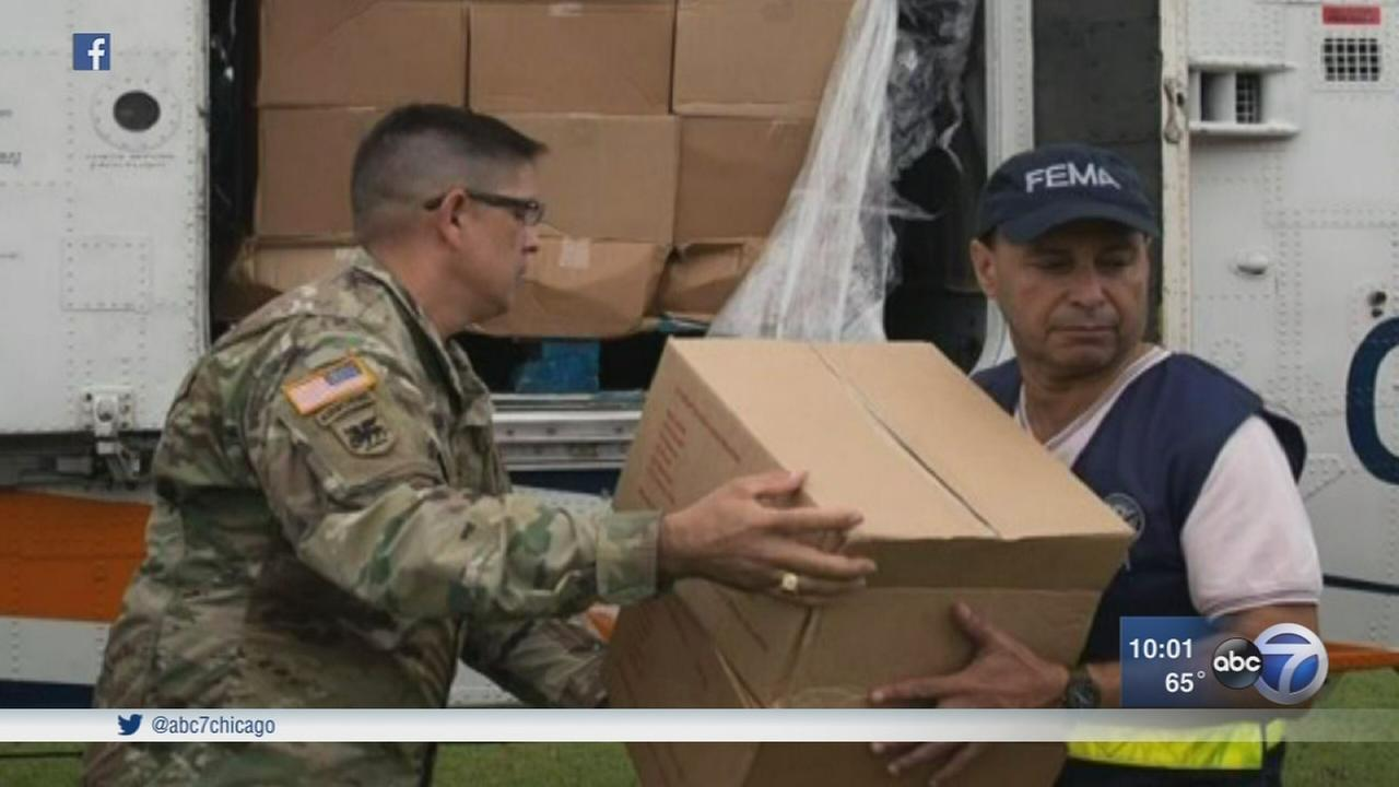 U.S. Rep. Luis Gutierrez returns from Puerto Rico
