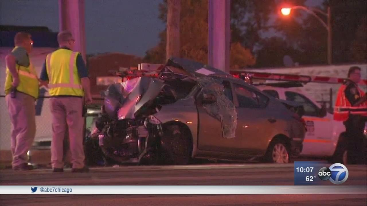 Woman killed when Metra train strikes vehicle on NW Side