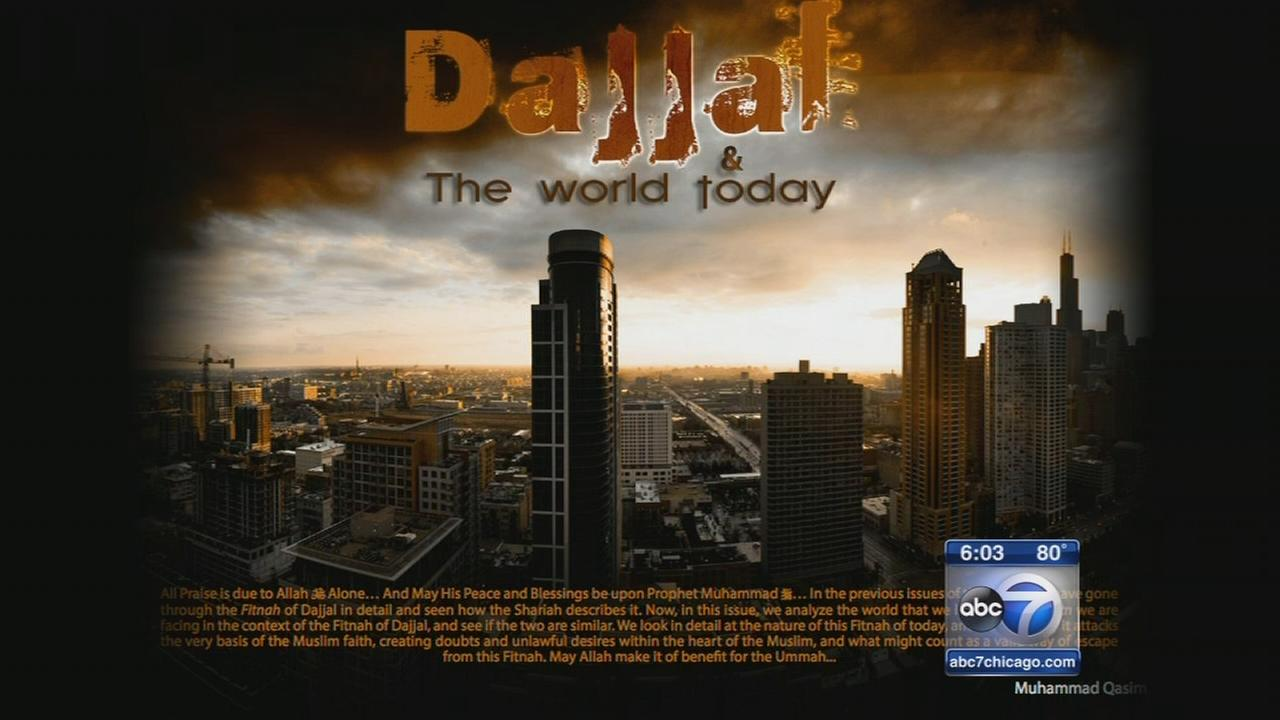 Jihadist recruitment tool features Chicago skyline