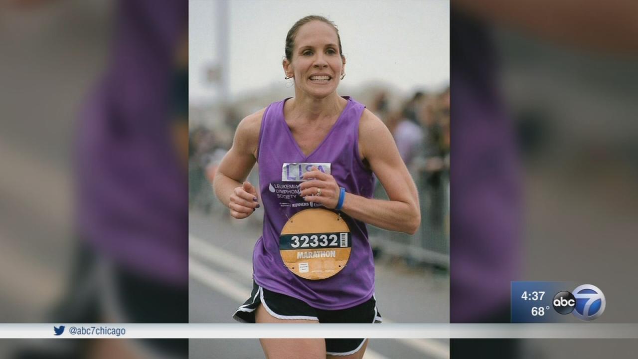 Leukemia survivor celebrates remission by running in Chicago Marathon