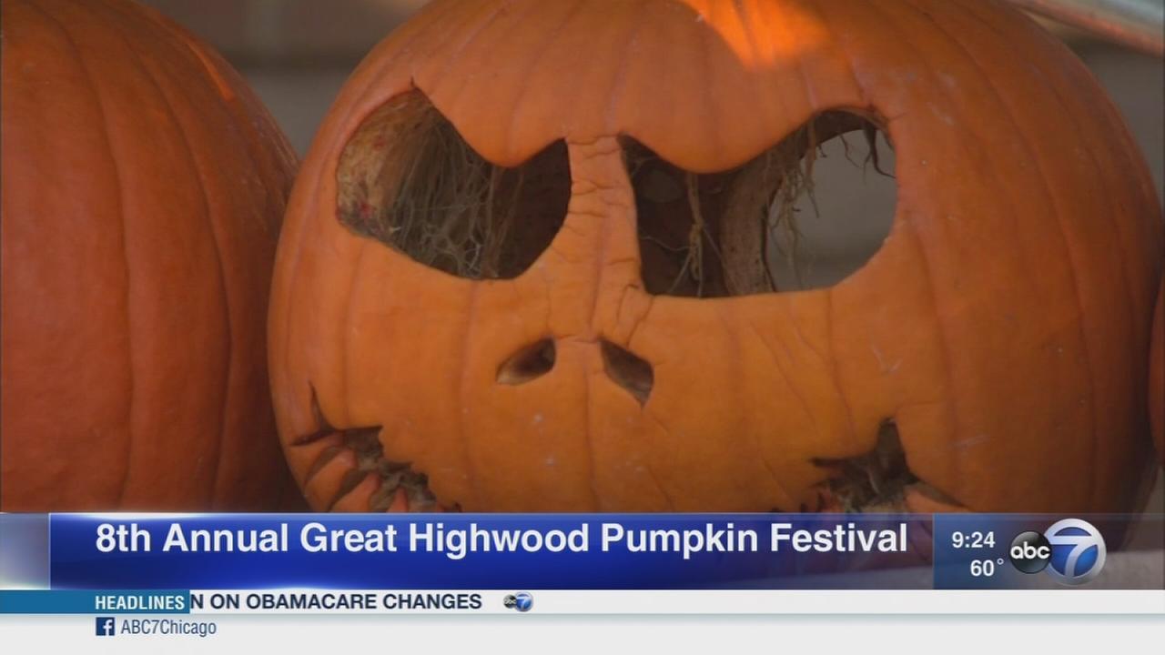 World record attempt at Highwood Pumpkin Festival