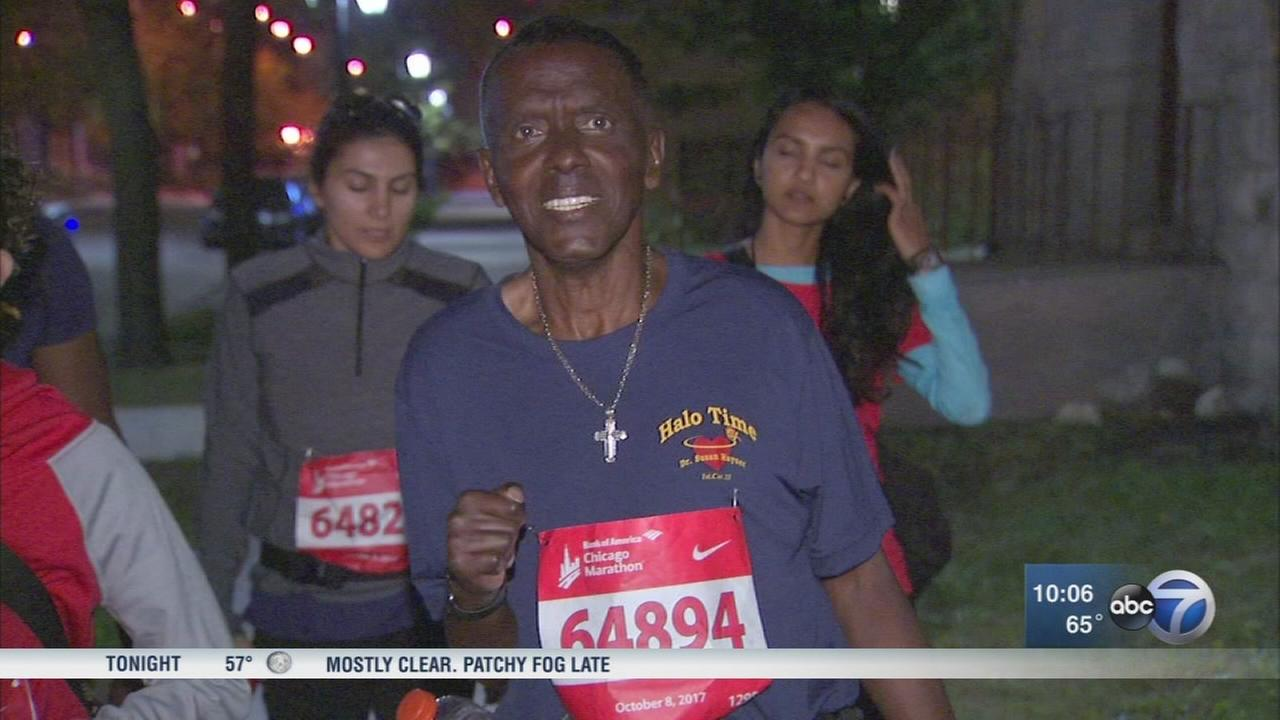 Former quadriplegic walks over 15 hours to finish marathon