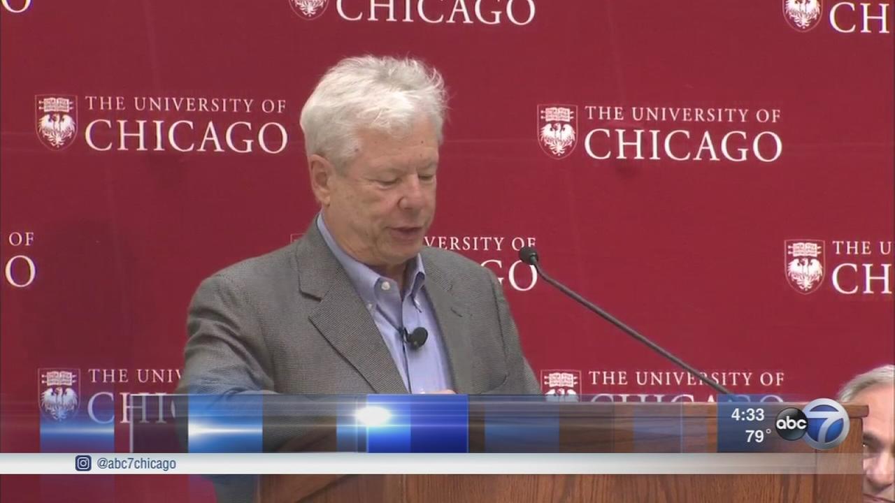 UofC professor wins Nobel Prize