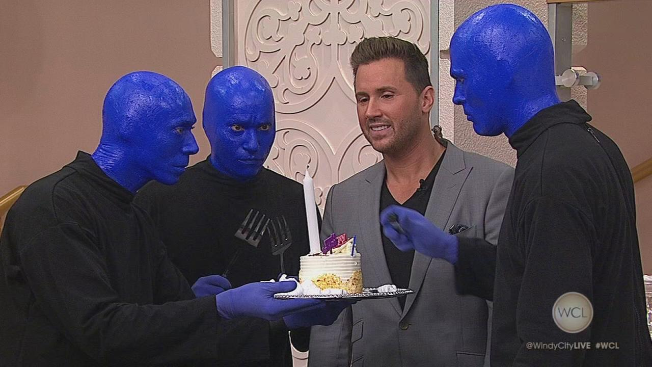 20th Anniversary of Blue Man Group In Chicago
