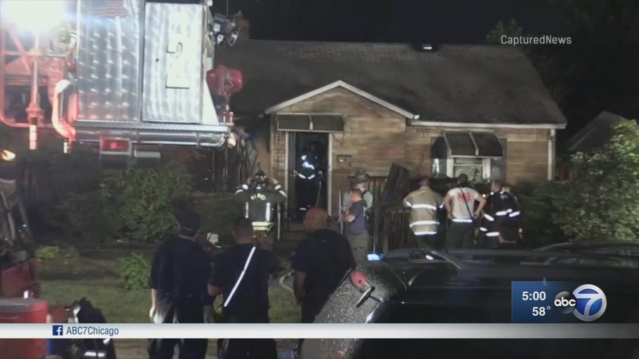 Harvey woman found dead after house fire