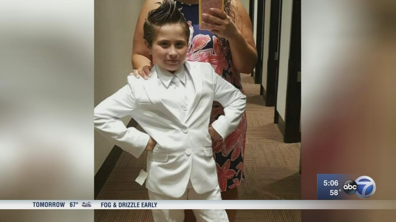 Girl banned from wearing pantsuit to First Communion