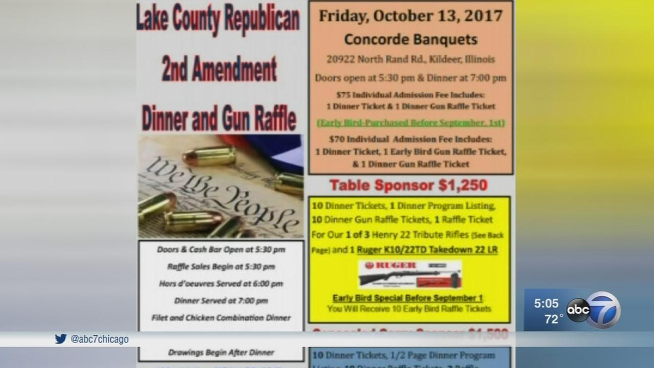 Gun raffle in Lake County causes controversy