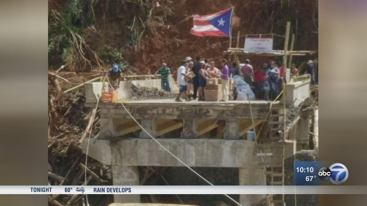Exclusive look at Army relief operations in Puerto Rico