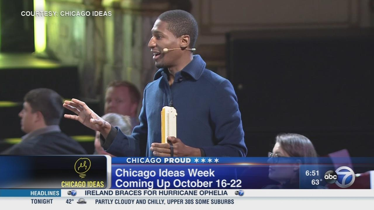 Innovations at the upcoming Chicago Ideas Week