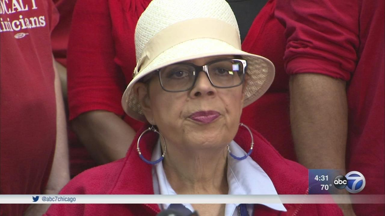 CTU President Karen Lewis in hospital recovering from stroke