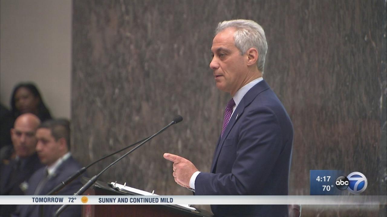 Mayor Emanuel releases 2018 budget proposal