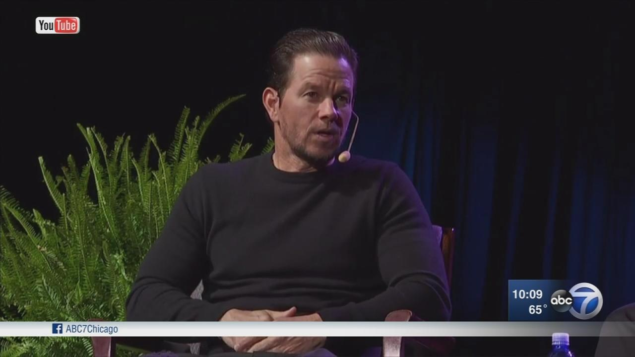 Mark Wahlberg joins Cardinal Cupich at event promoting church