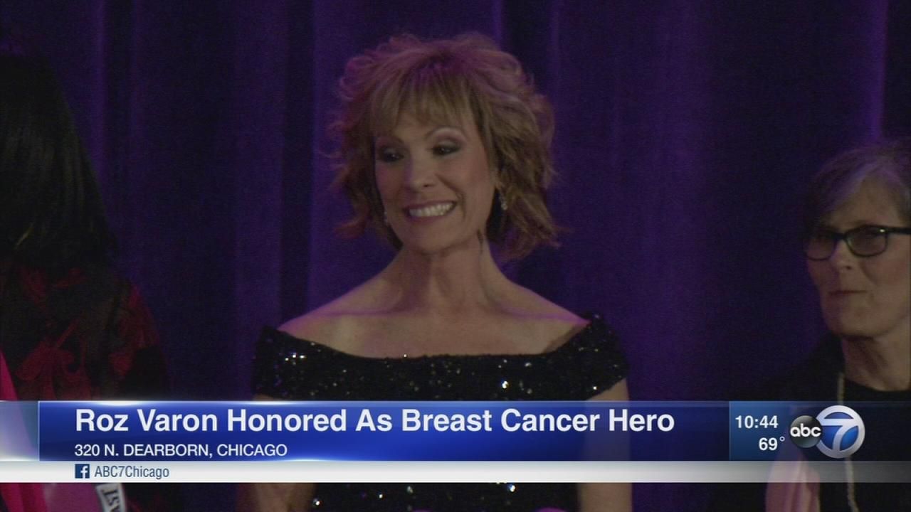 Roz Varon honored