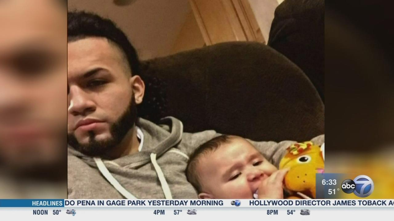 Police searching for driver who killed young father
