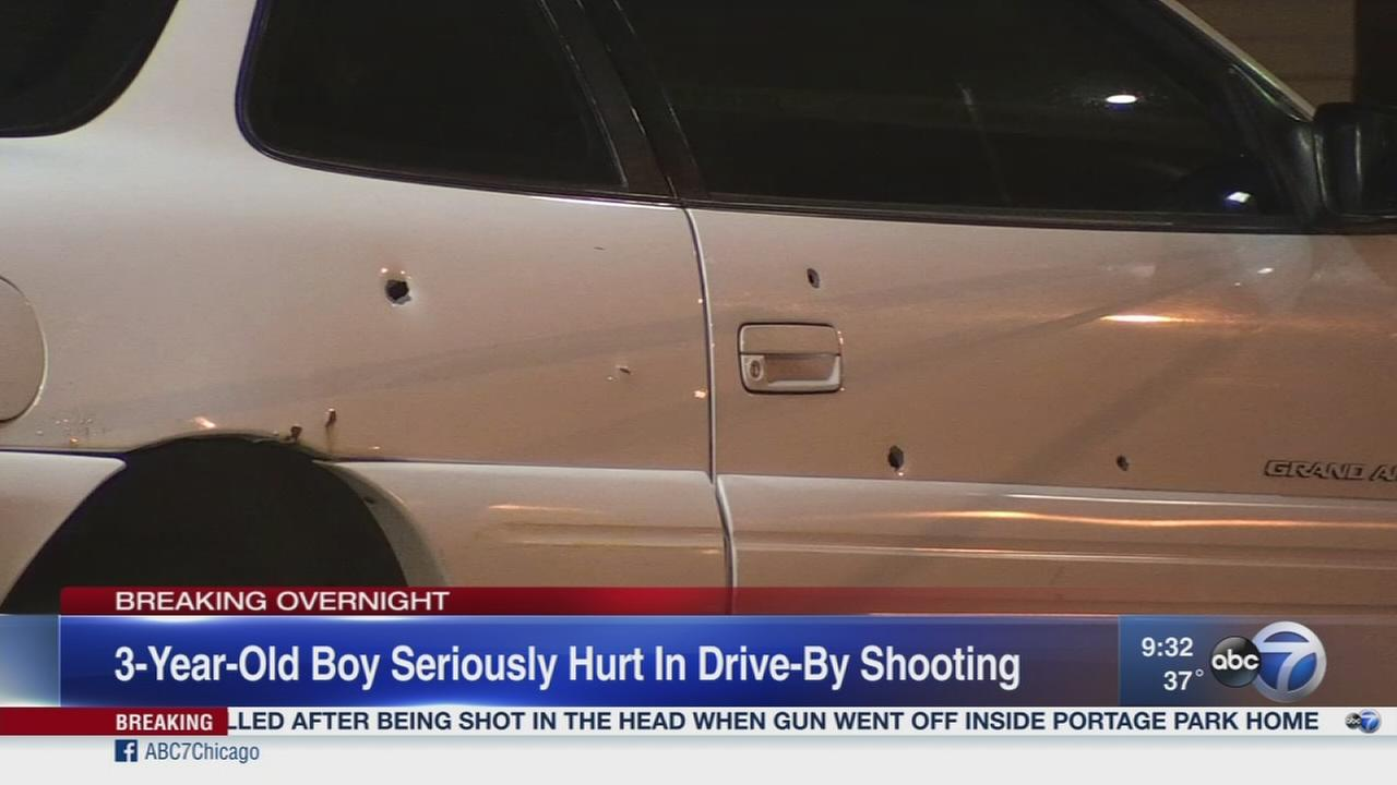 Boy, 3, wounded in Washington Park
